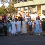 Olden days parade